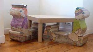 Stage création de meubles en carton