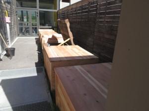 Installation compostage
