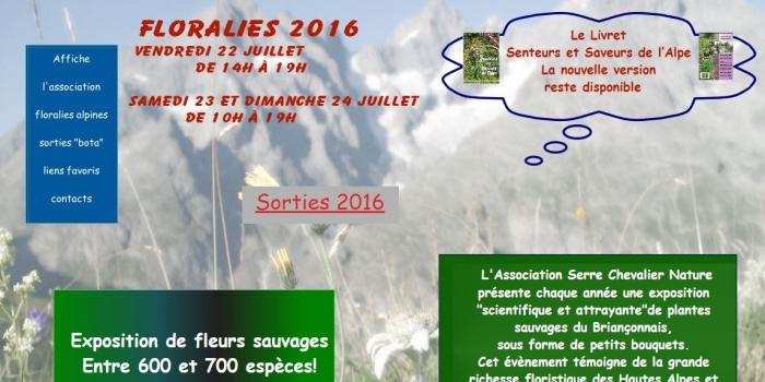 Sylvie Carbonnet expose aux Floralies