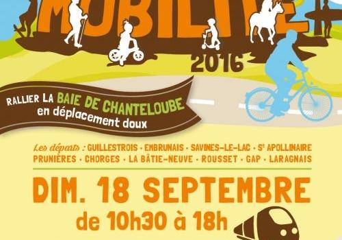 La fête de la mobilité c'est dimanche 18 septembre !