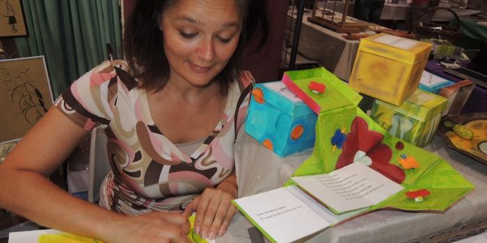 Lætitia Rambinintsoa, artiste du livre, rejoint Coodyssée