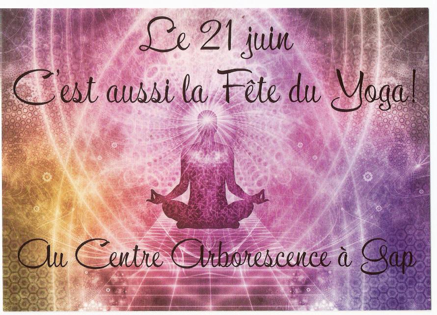 Fete du Yoga - 21 juin - Gap