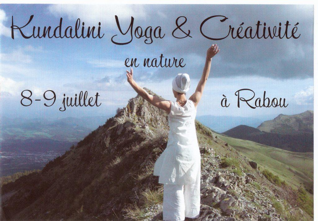 Stage Kundalini Yoga et créativité en pleine nature
