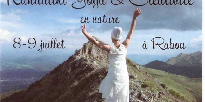 Yoga, nature et créativité !