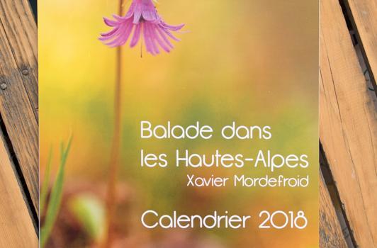 Il reste quelques calendriers 2018 à Xavier