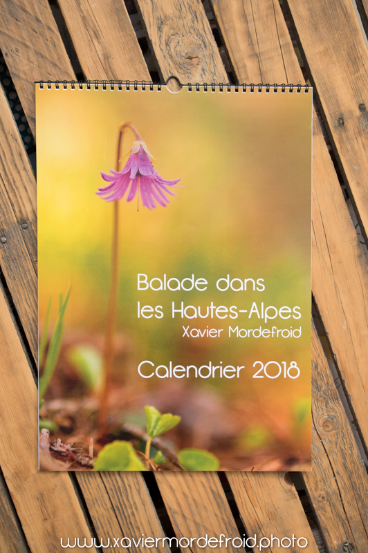 Calendrier 2018 Hautes-Alpes