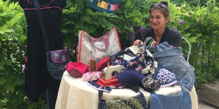 Marion COLA, couturière, rejoint Coodyssée